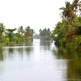 Südindien, Kerala Backwaters